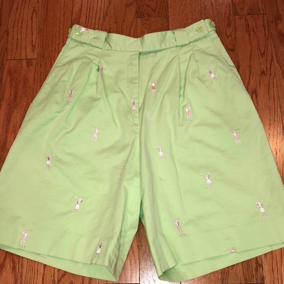Lilly Pulitzer Pants - Lilly Pulitzer Golf Shorts Size 6